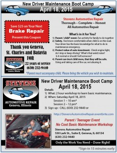 Automotive Maintenance Boot Camp
